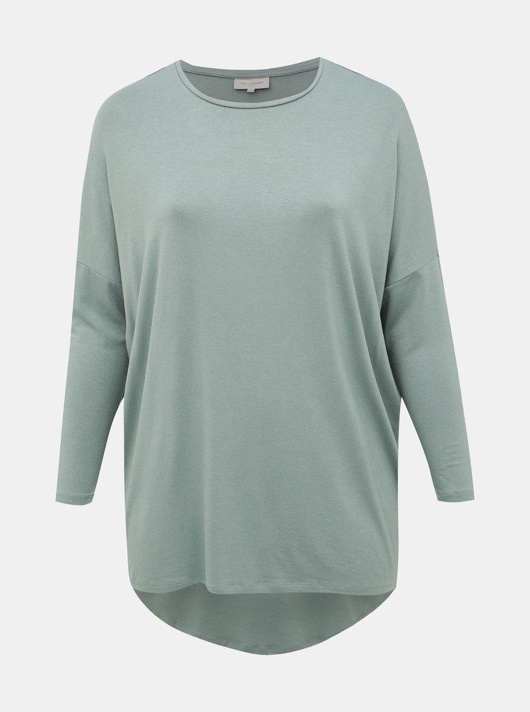 Světle zelené tričko ONLY CARMAKOMA Carma