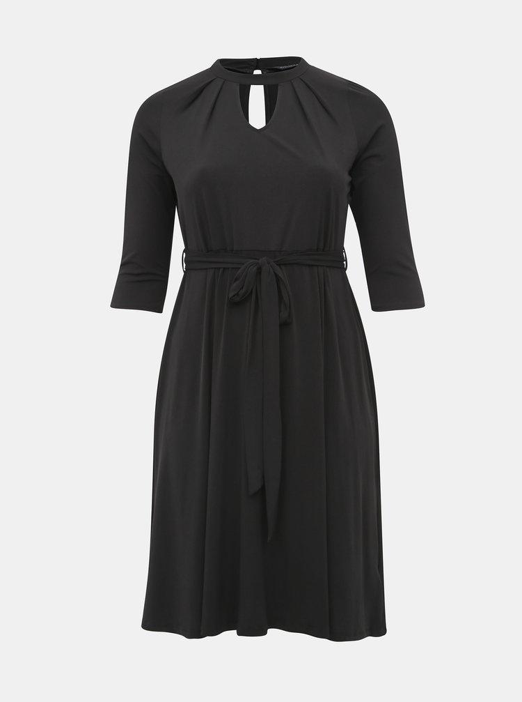 Černé šaty Dorothy Perkins Curve