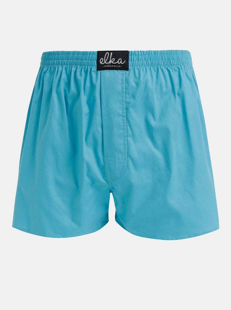 Tyrkysové pánské trenýrky El.Ka Underwear