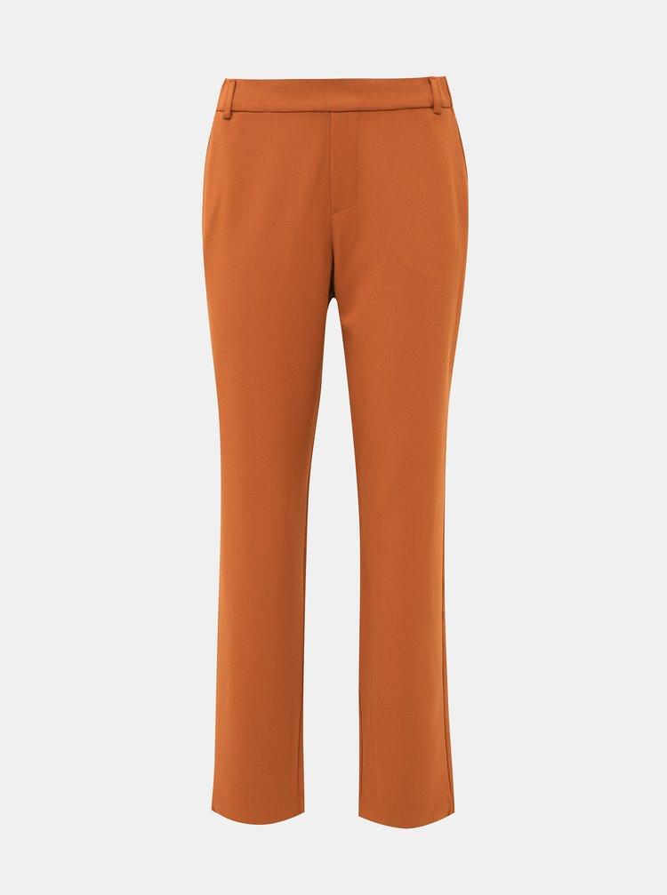 Hořčicové kalhoty VILA Goldi