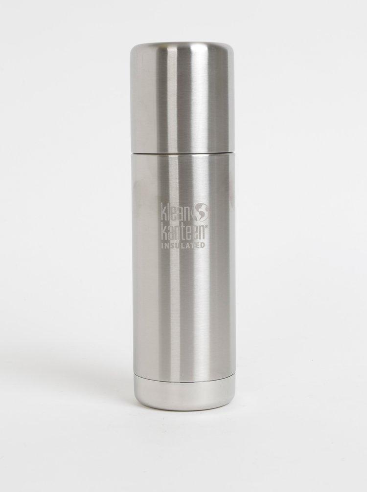 Nerezová termoska ve stříbrné barvě Klean Kanteen 500 ml