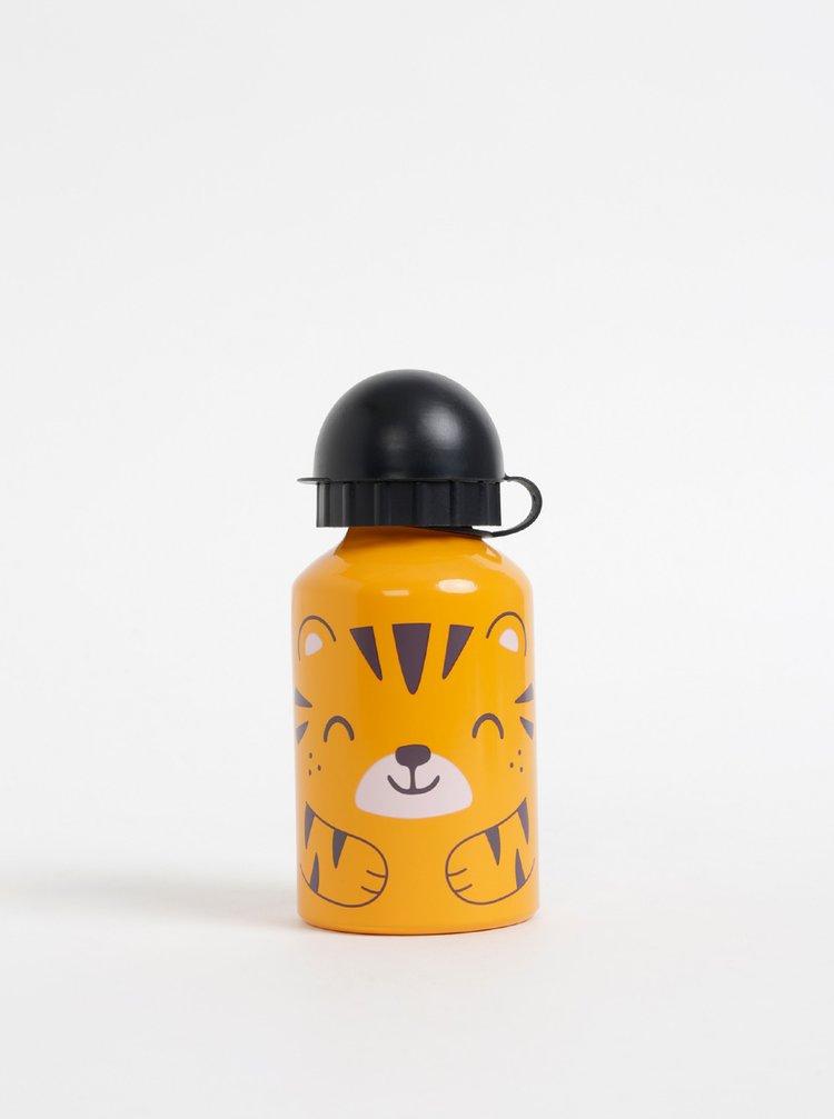 Oranžová dětská láhev Sass & Belle 300 ml