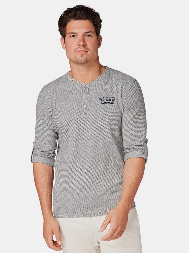 Šedé pánske tričko Tom Tailor