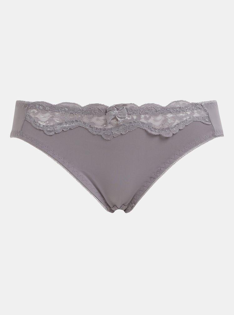 Fialové kalhotky s krajkou Haily´s Mia