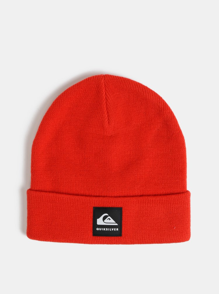 Červená čepice Quiksilver Brigade
