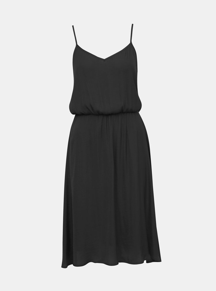 Černé šaty  na ramínka Jacqueline de Yong