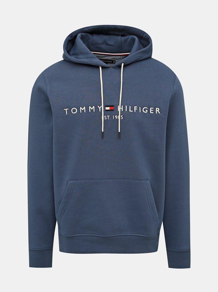 Modrá pánska mikina Tommy Hilfiger