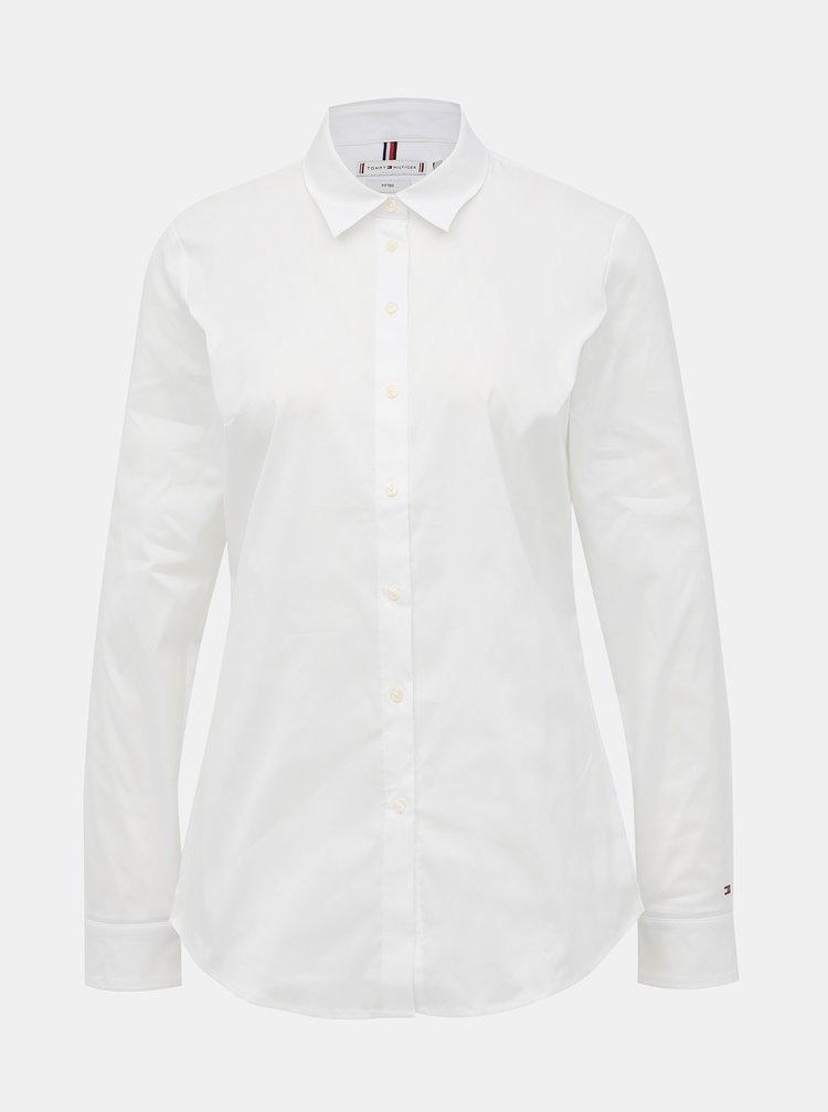 Bílá dámská košile Tommy Hilfiger Heritage