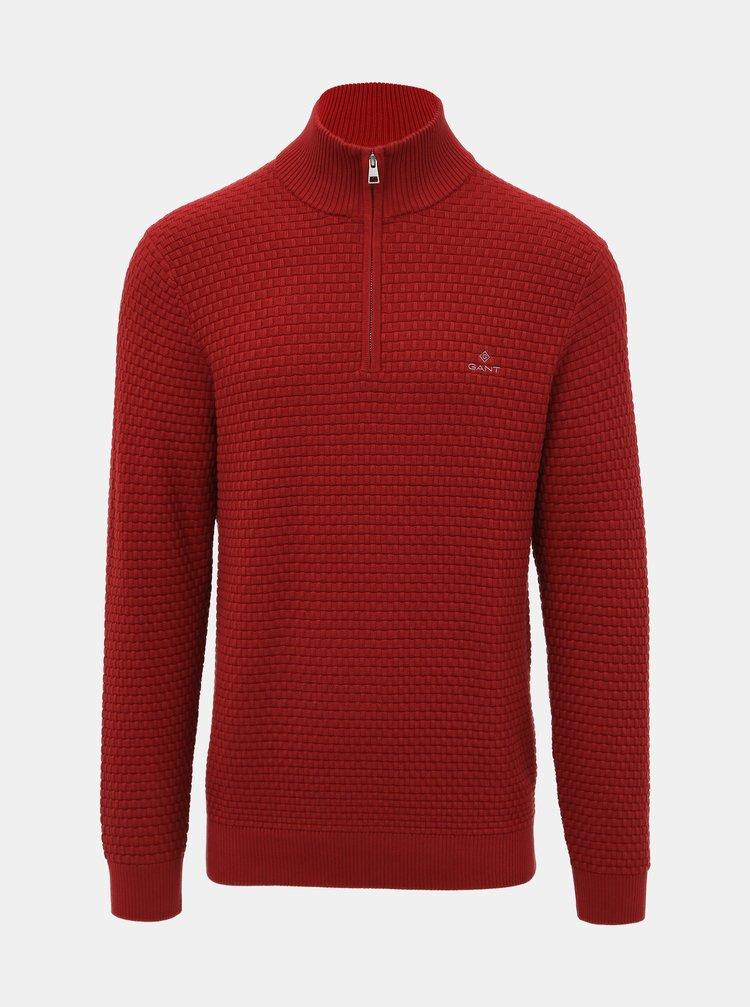 Červený pánsky sveter GANT