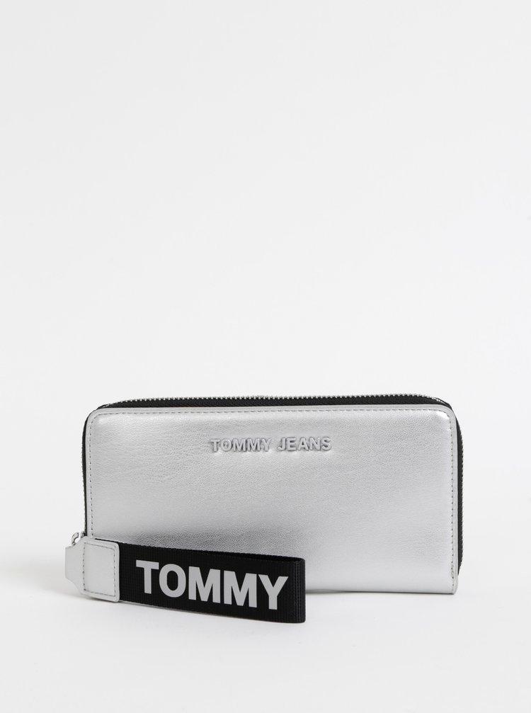 Dámská peněženka ve stříbrné barvě Tommy Hilfiger Femme