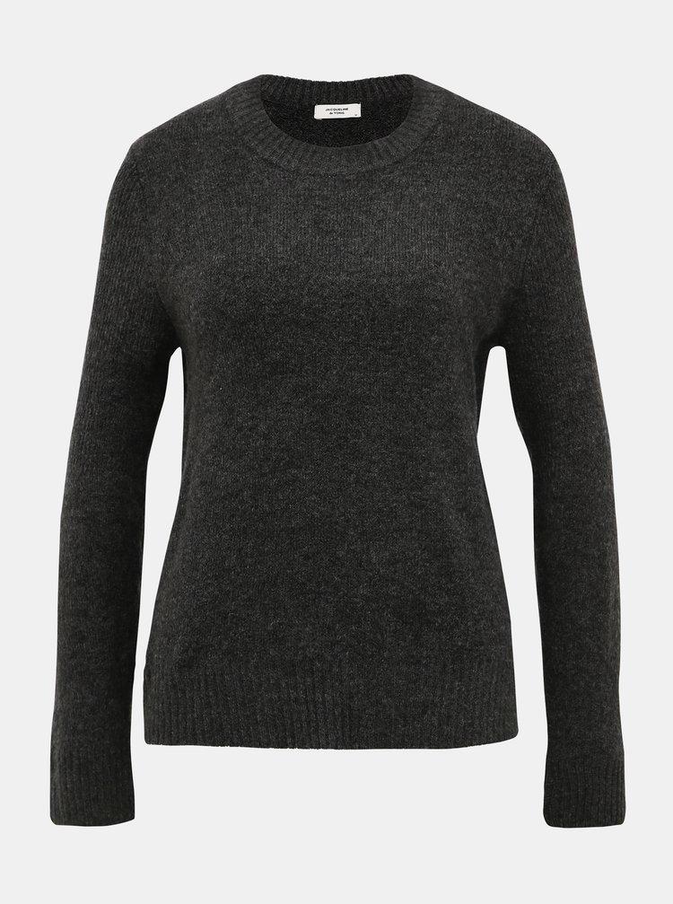 Šedý basic svetr Jacqueline de Yong Crea
