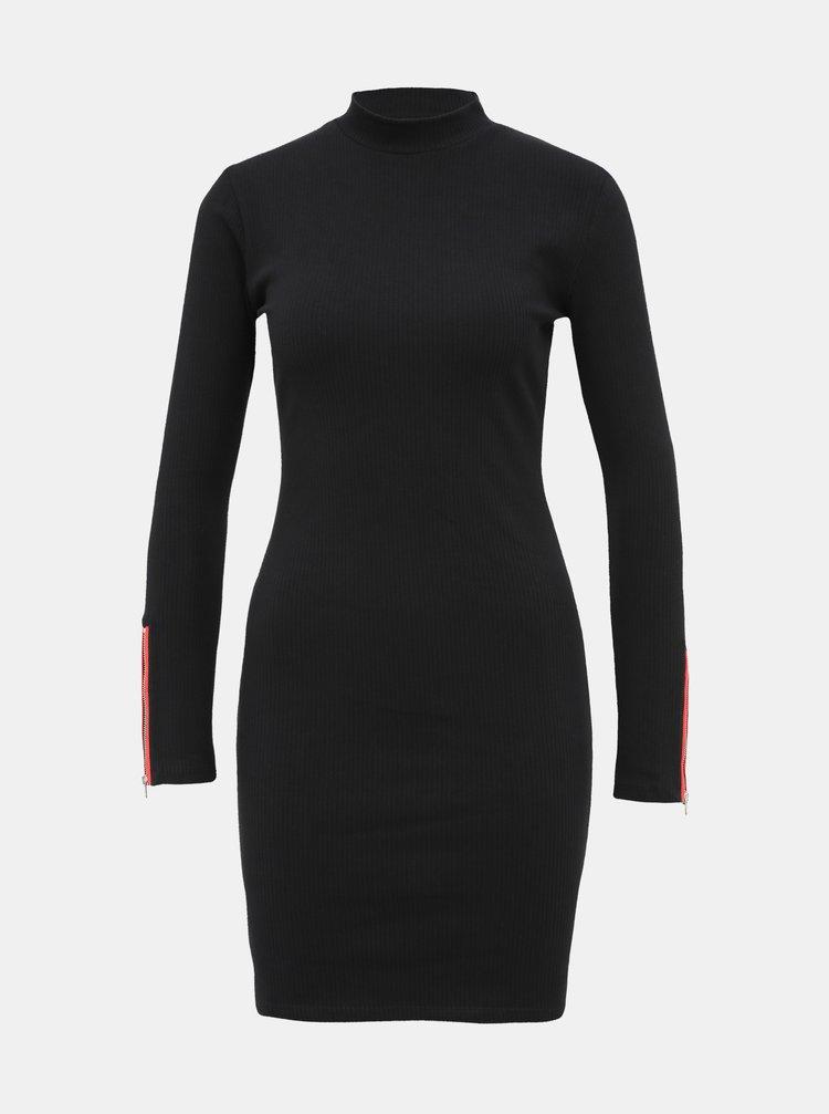 Černé pouzdrové šaty TALLY WEiJL