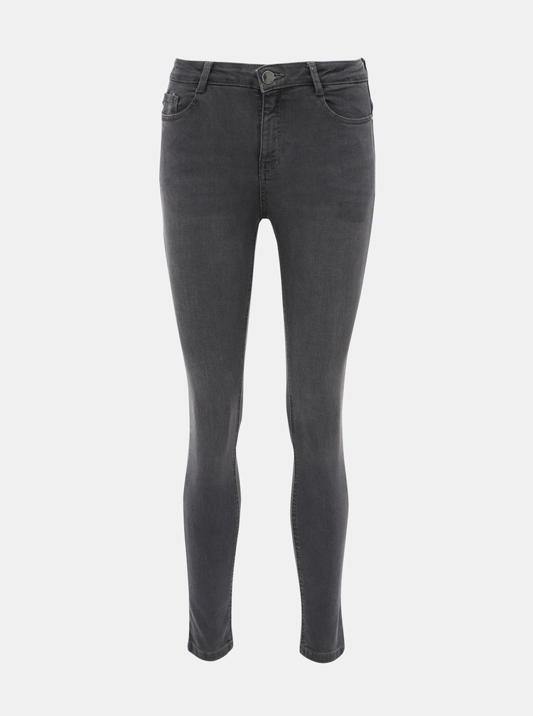 Šedé skinny fit rifle Dorothy Perkins Shape & Lift