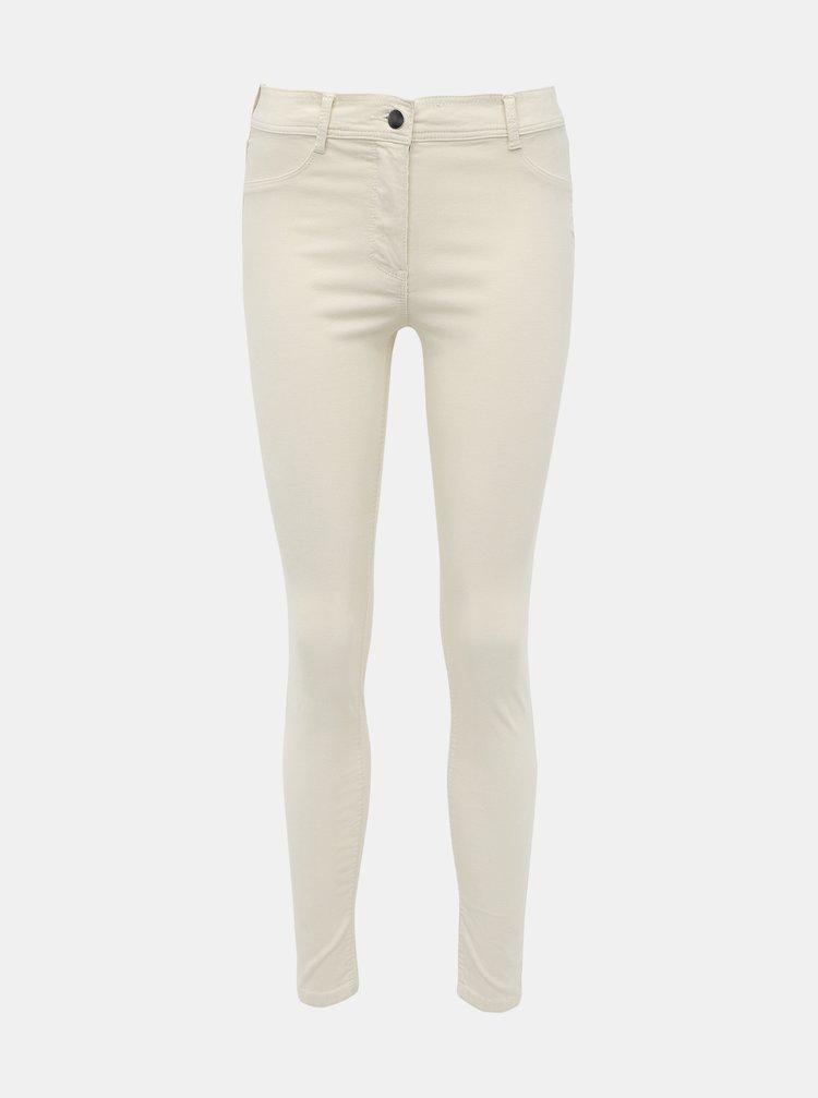 Krémové menčestrové nohavice Dorothy Perkins