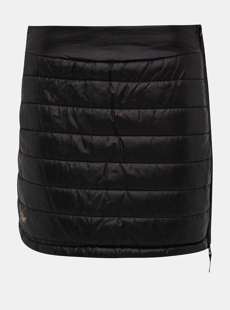 Čierna prešívaná sukňa SAM 73