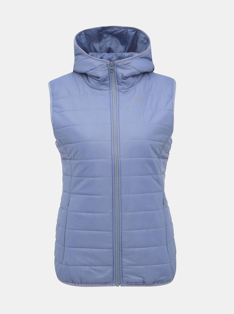 Modrá dámská prošívaná vesta SAM 73