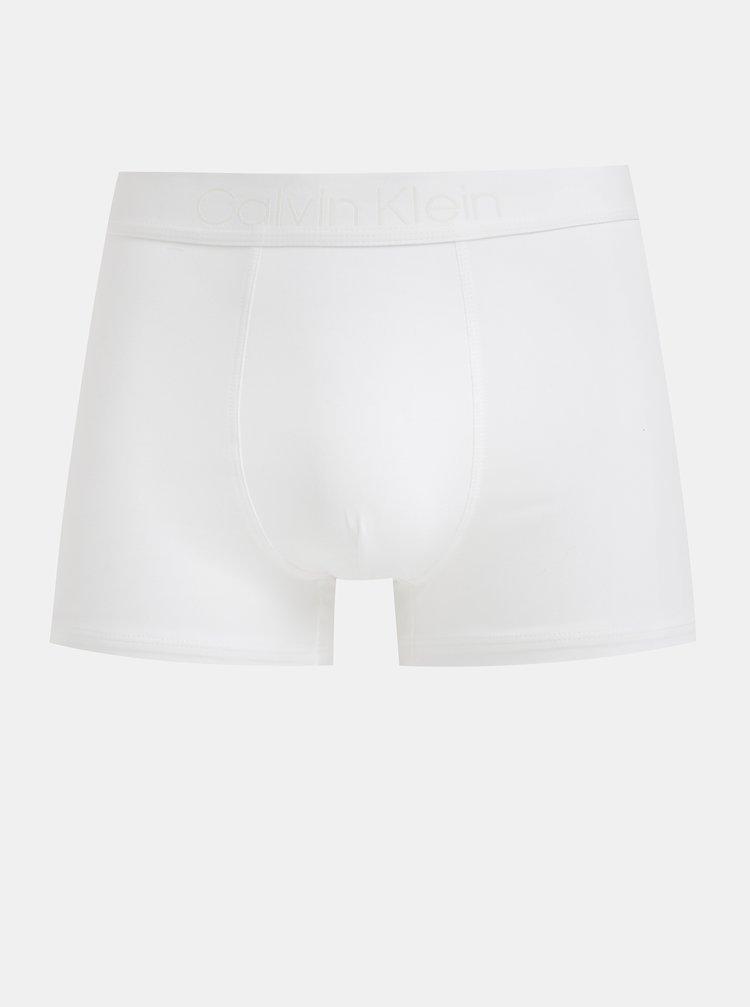 Bílé boxerky z egyptské bavlny Calvin Klein Underwear