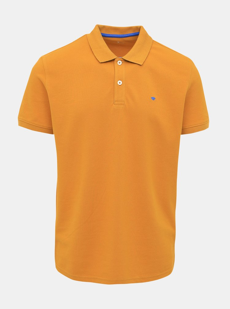 Oranžové pánské basic polo tričko Tom Tailor