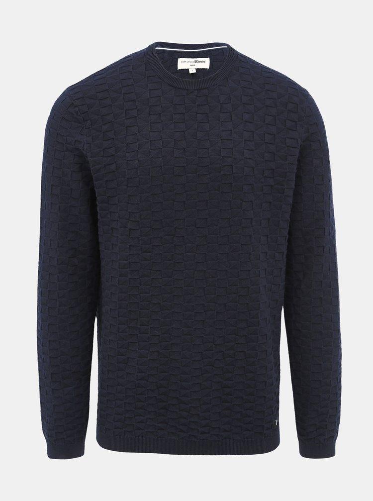 Tmavě modrý pánský svetr Tom Tailor Denim