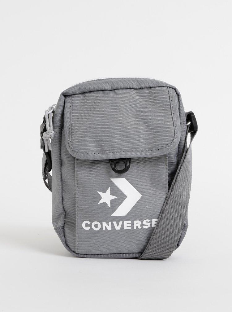 Šedá crossbody taška Converse