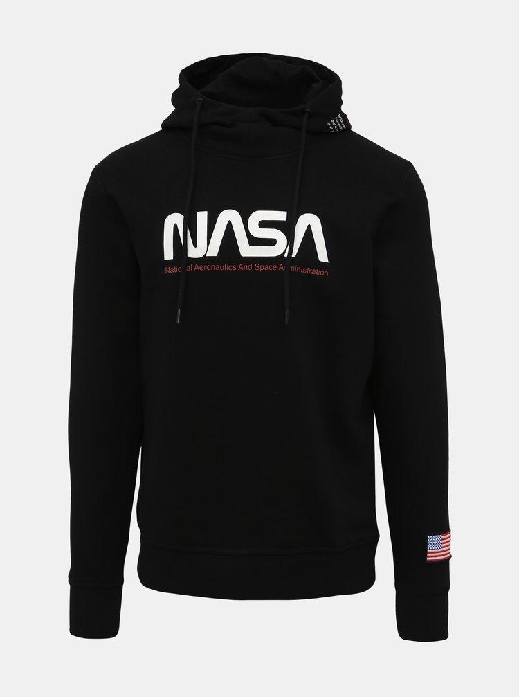 Černá mikina Jack & Jones Pablo NASA