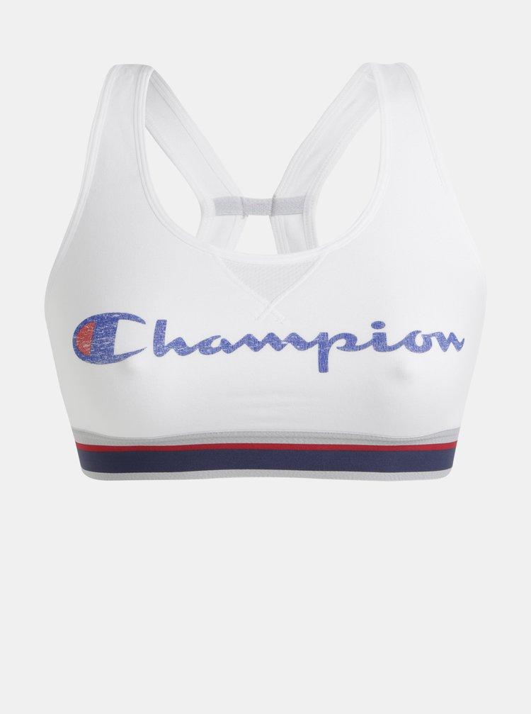 Bílá sportovní podprsenka Champion