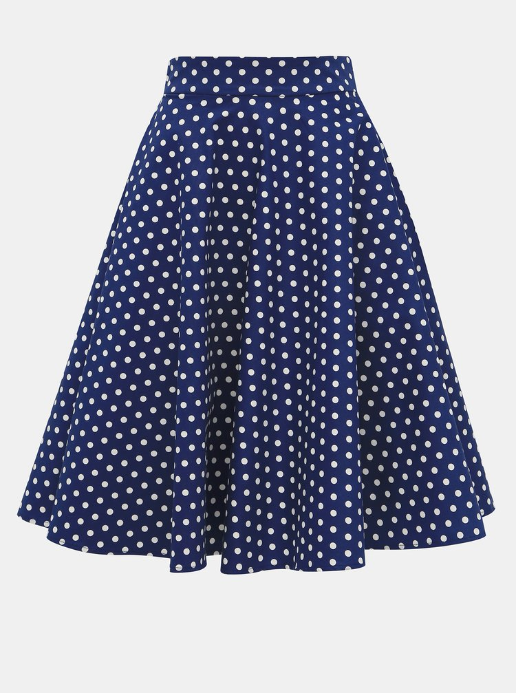 Marimi curvy pentru femei Dolly & Dotty - albastru