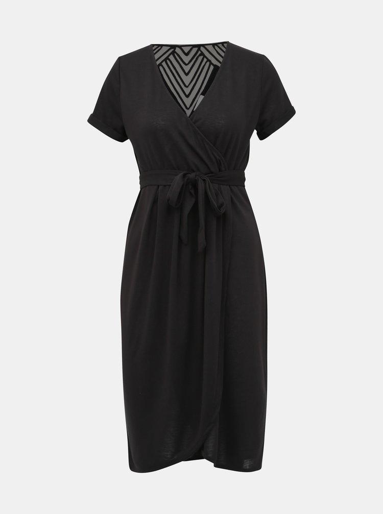 Černé kojicí šaty Mama.licious Ura