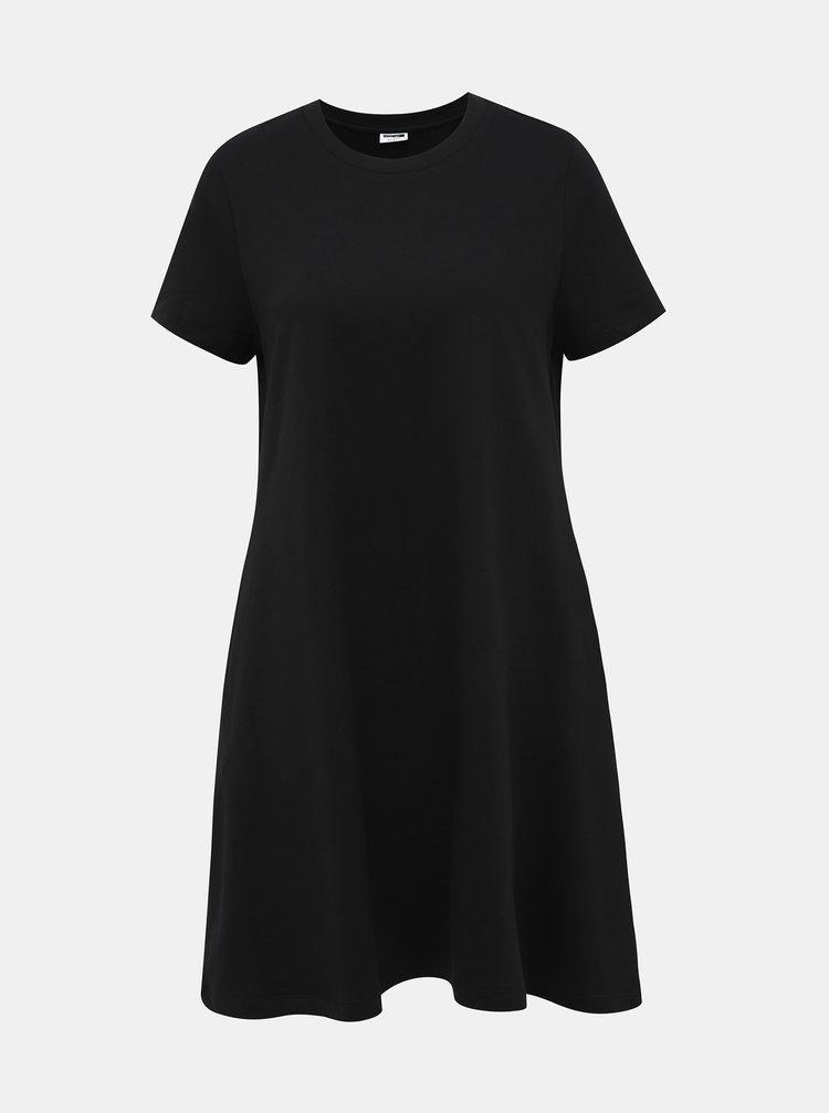 Černé basic šaty Noisy May Luni