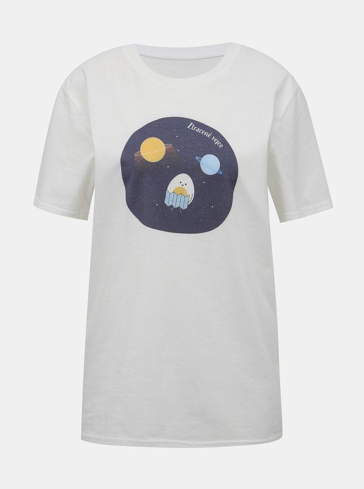 Biele dámske tričko ZOOT Original Ztracené vejce