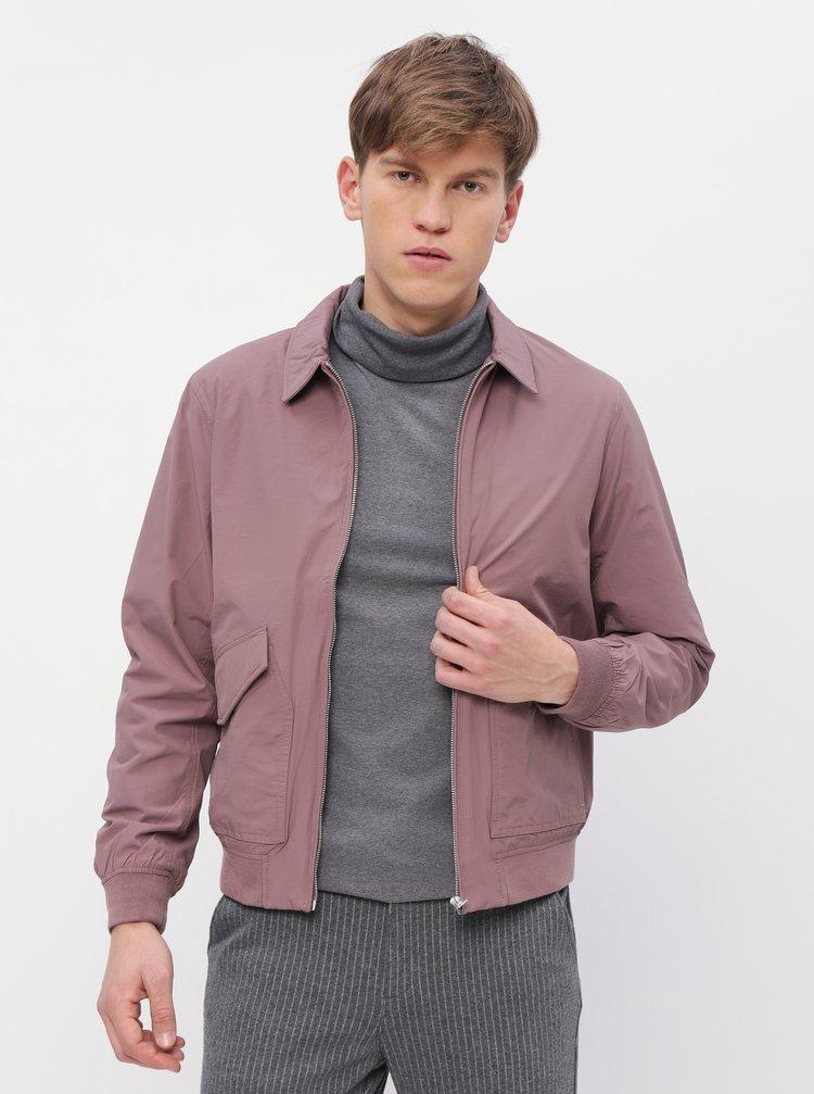 Jacheta mov deschis cu buzunare Burton Menswear London