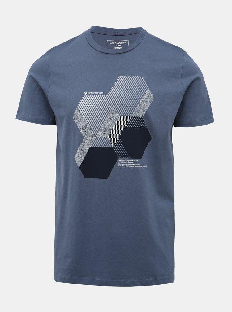 Modré tričko Jack & Jones Booster