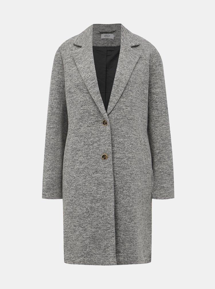 Šedý kabát ONLY Carrie