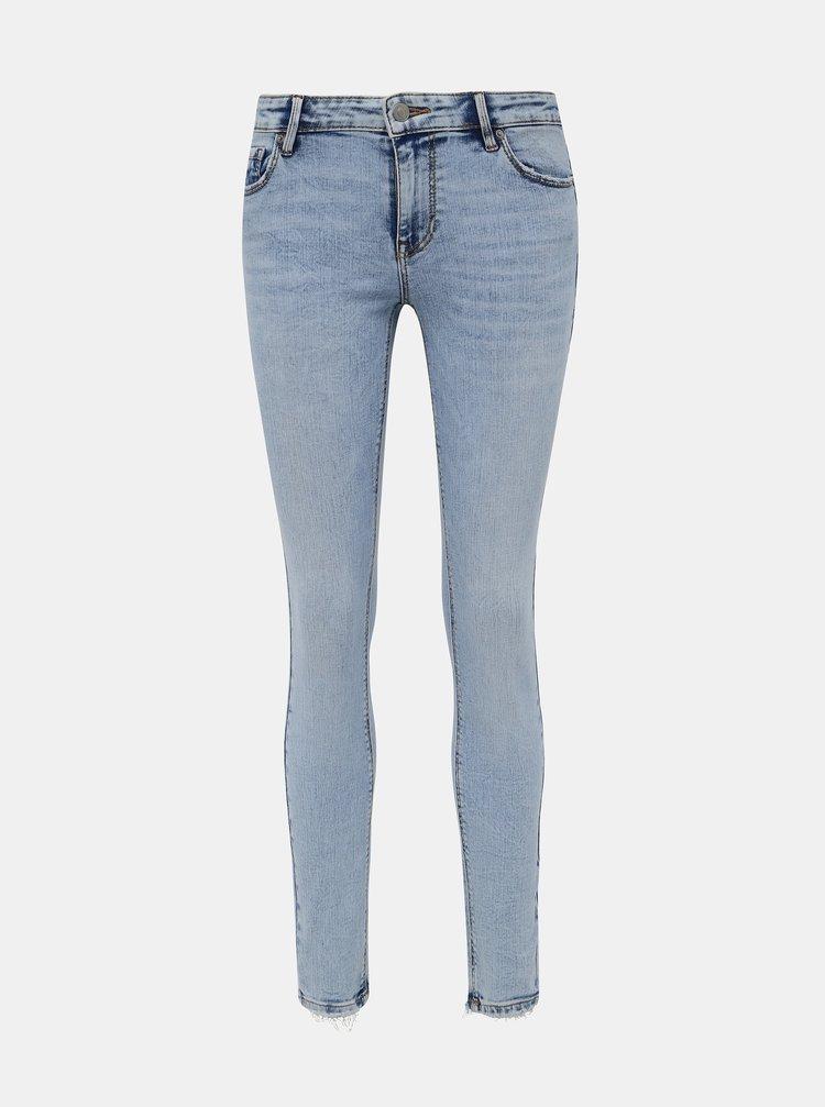 Skinny fit pentru femei VERO MODA - albastru deschis