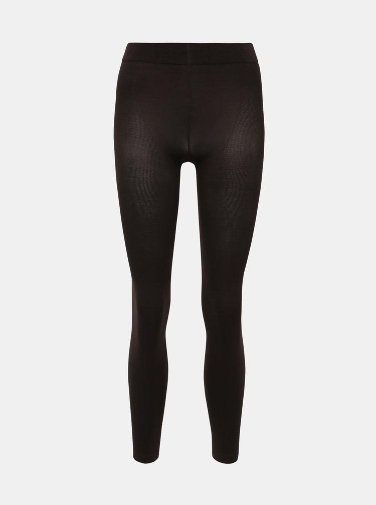 Tmavě hnědé punčochové kalhoty Pompea