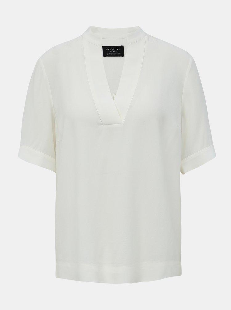 Topuri pentru femei Selected Femme - alb