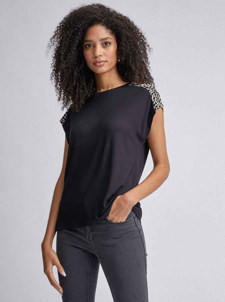 Černé tričko Dorothy Perkins