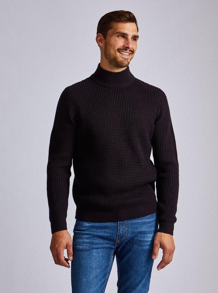 Tmavě modrý svetr Burton Menswear London Wardour