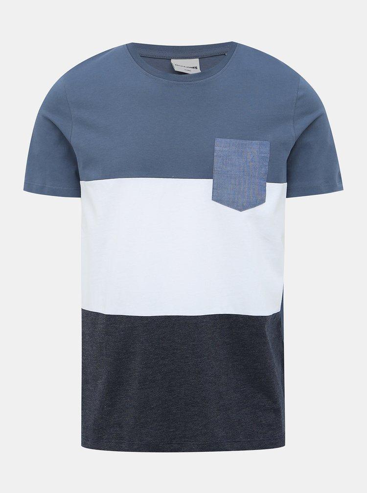 Modré tričko Jack & Jones Eagle