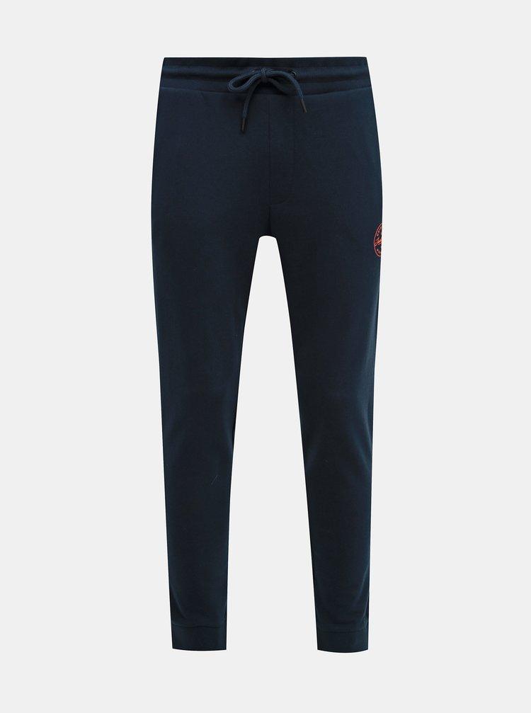 Pantaloni sport si de casa pentru barbati Jack & Jones - albastru inchis