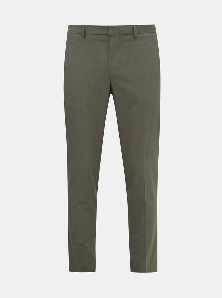 Šedé oblekové kalhoty Selected Homme Logan
