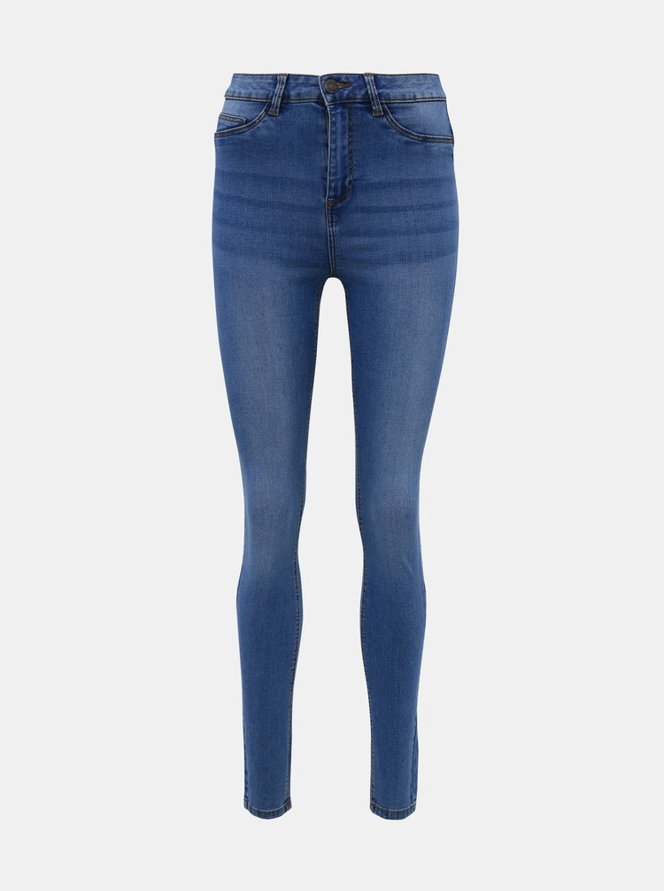 Světle modré skinny fit džíny Noisy May Callie