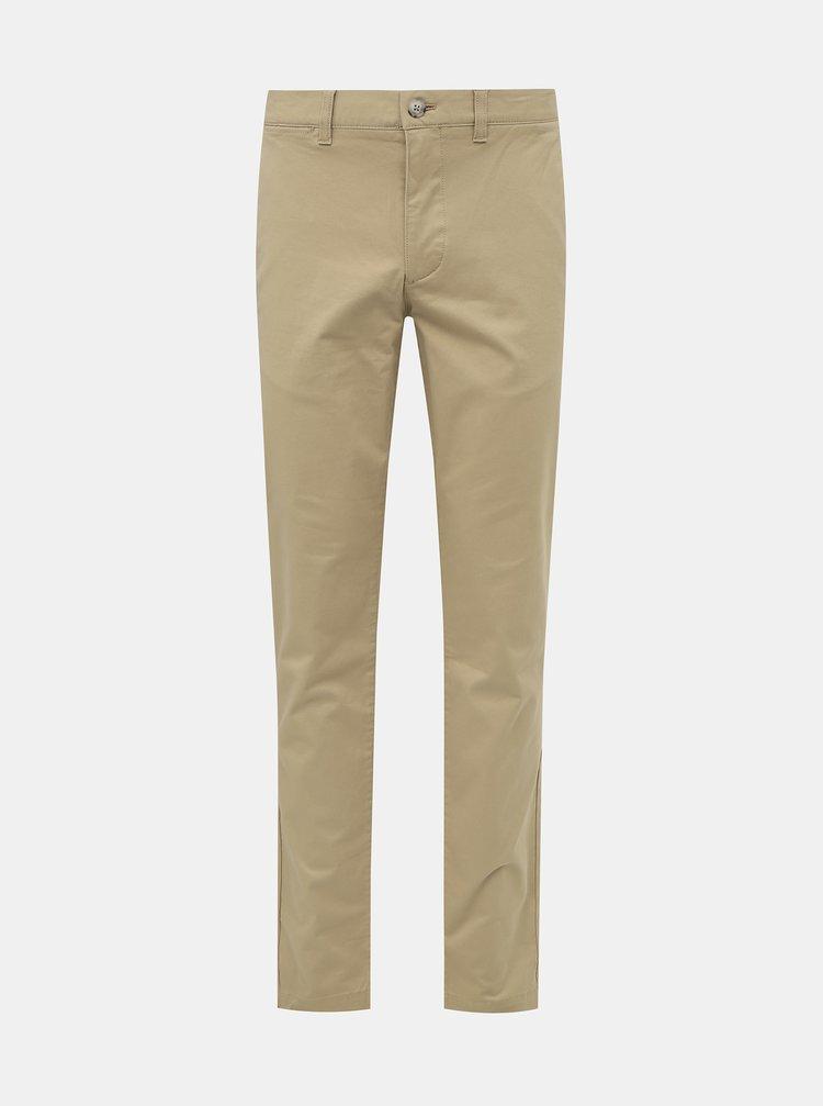 Béžové pánské chino kalhoty Lacoste