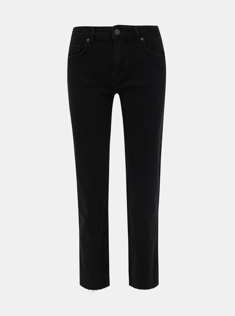 Černé straight fit džíny Noisy May Jenna