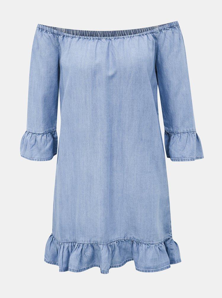 Svetlomodré rifľové šaty Haily´s Karla