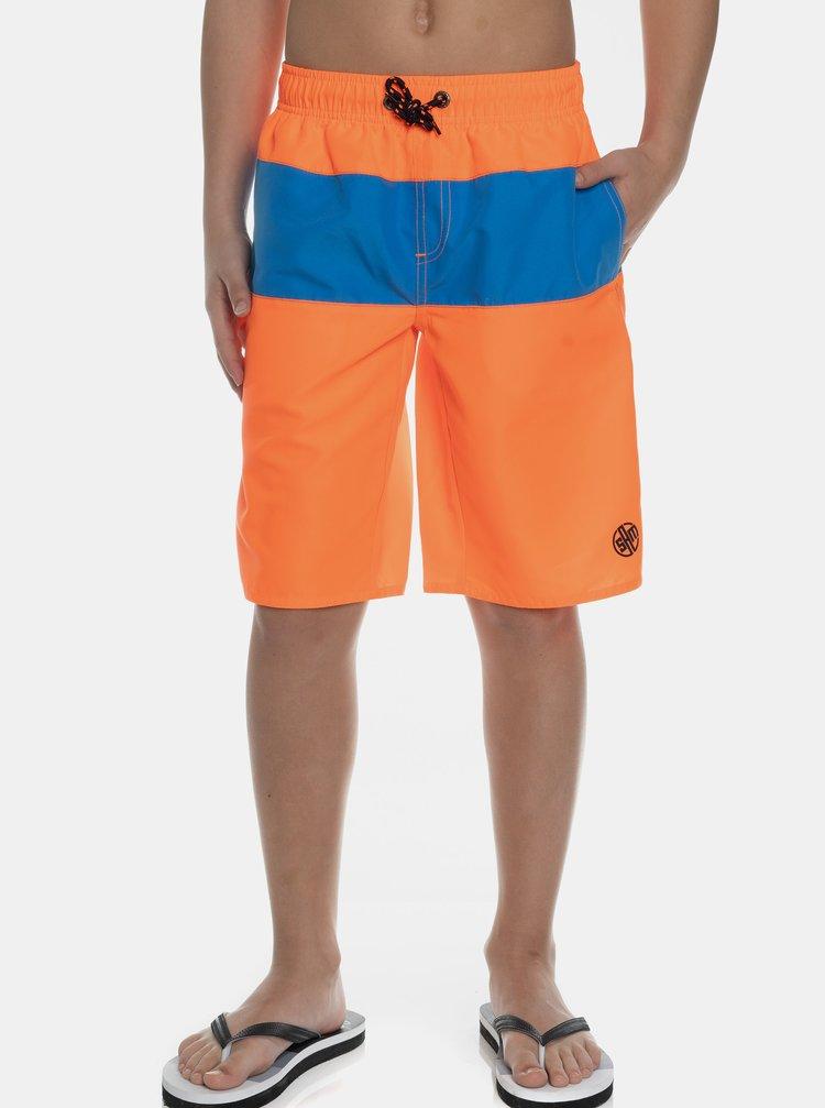 Neonově oranžové klučičí plavky SAM 73