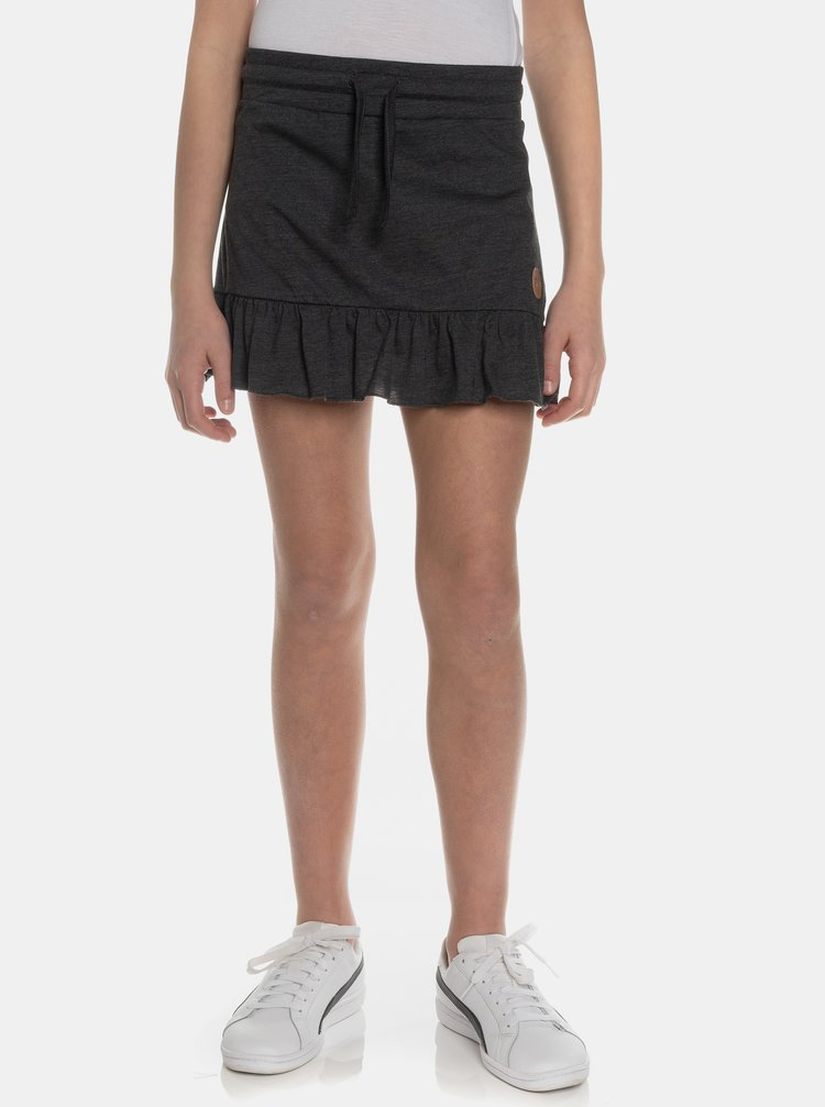 Čierna dievčenská sukňa SAM 73