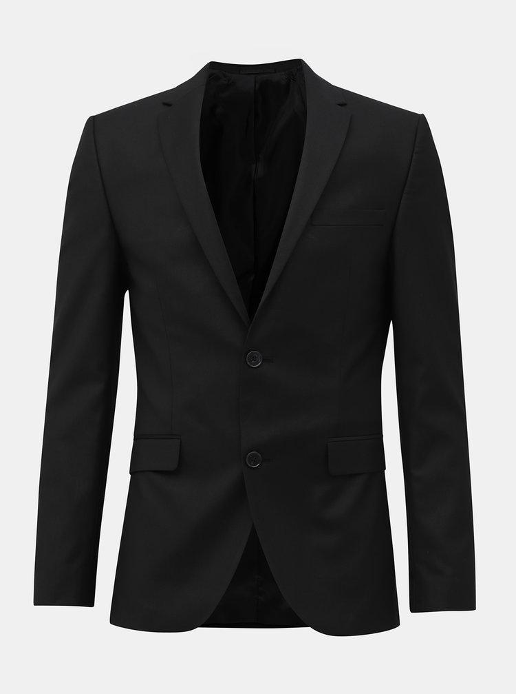Černé sako Selected Homme
