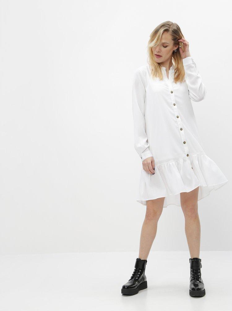 Bílé šaty Noisy May Charlee