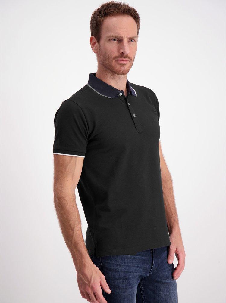 Černé polo tričko Lindbergh